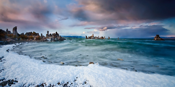 """""""Storms and Sunset over Mono Lake"""""""