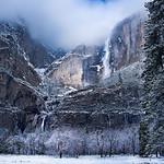Light on Yosemite Falls