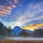 """""""Half Dome in Yosemite at Sunrise"""""""