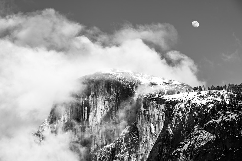 Half-Dome-Full-Moon-Winter-Yosemite-National-Park-Ansel-Adam-Black-and-White-Monochrome_D811856