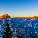"""Sunset over Half Dome"" Yosemite National Park"