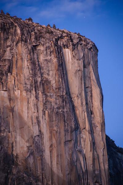El Capitan at Dusk in Yosemite National Park