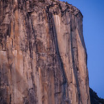 El Capitan at Dusk in Yosemite National Park