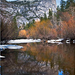 Mirror Lake Yosemite Winter