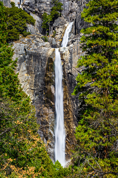 Lower Yosemite Falls in Spring