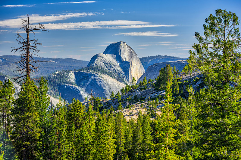 """Half Dome from Olmsted Point"" Yosemite National Park"
