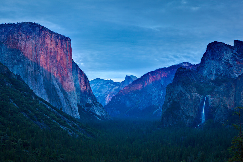 Tunnel View Sunset 2481