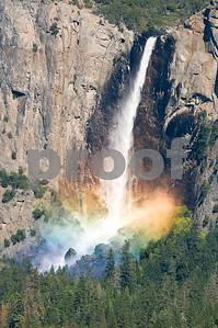 Misty Rainbow on Bridal Veil Fall.
