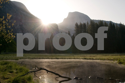 Spring Sunrise in Yosemite Valley