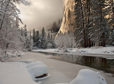 El Cap in Winter No 2