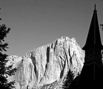A Dry Yosemite Fall