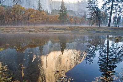 Reflection of El Cap in the Morning-3