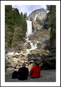 059Couple at the Vernal Fall072