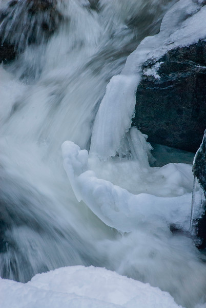 Ice bowl in the falls