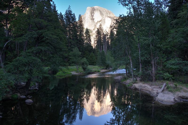 Half Dome from Sentinel Bridge - Yosemite National Park