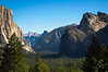 Iconic Yosemite on a summer morning