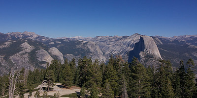 Half Dome from Sentinal Point