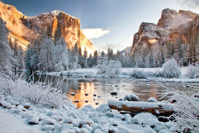 Valley View Feb. 2012, Yosemite National Park
