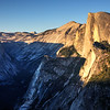 Half Dome at Sunset from Glacier Point - Yosemite National Park