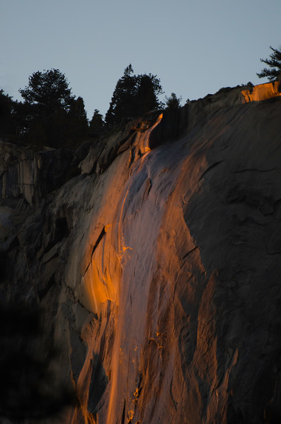 Horestail Fall - Good light, no water!