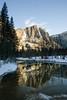 Reflections of Yosemite Falls