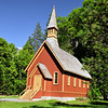 The Yosemite Valley Chapel. Yosemite National Park
