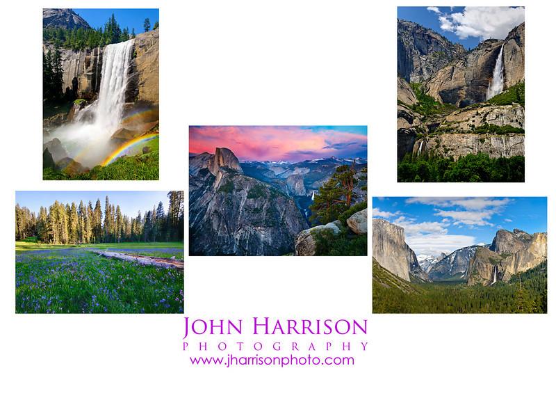 5x7 card Yosemite Summer Index