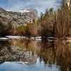 Mirror Lake. Mt. Watkins reflection.