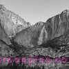 Yosemite Falls taken from Cooks Meadow
