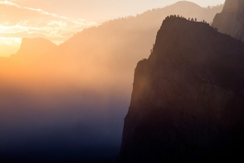 Morning Light in Yosemite