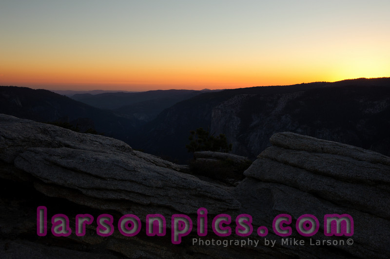 Sentinel Dome Sunset