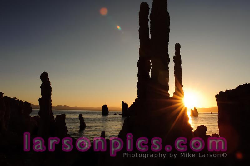 Tufa Sunrise at Mono Lake