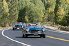 A run of classic Mercedes passed us. I think these are 190SL's. Everyone waved and liked being photographed.