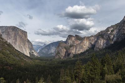 Tunnel View, Yosemite National Park, CA.