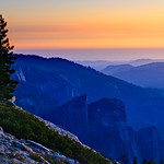 """Sunset on Cathedral Rock and Spires""   Yosemite National Park"