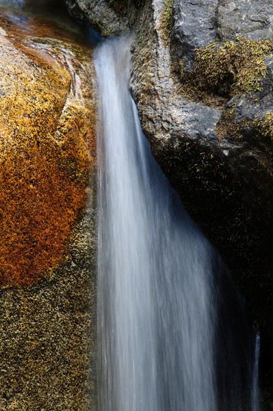 """""""Flowing Between"""", Yosemite National Park, """"Water, Light and Textures"""" series."""