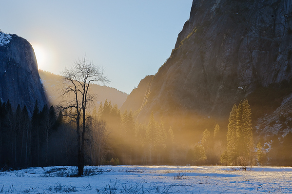 Last Light in the Valley, Yosemite National Park