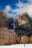 California, Yosemite National Park, California, Winter, Snow Landscape 加利福尼亚  优胜美地国家公园 冬 风景