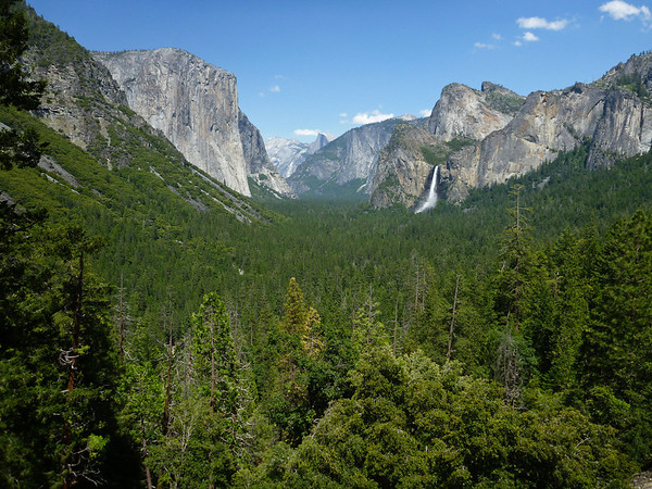 View from Tunnel View.