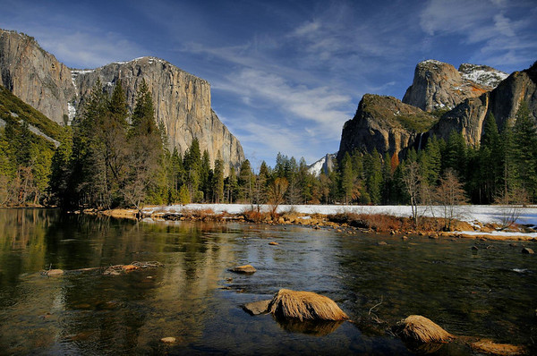 Yosemite and California, February 2010