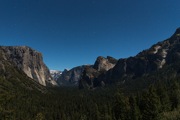 Yosemite by Moonlight