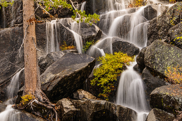 Water Cascades along Tioga Road