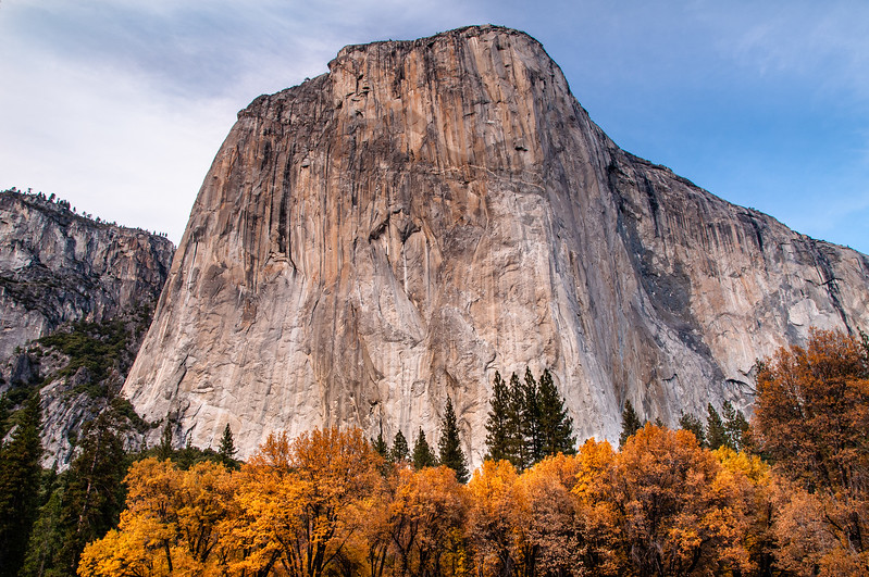 El Capitan with Colorful Border