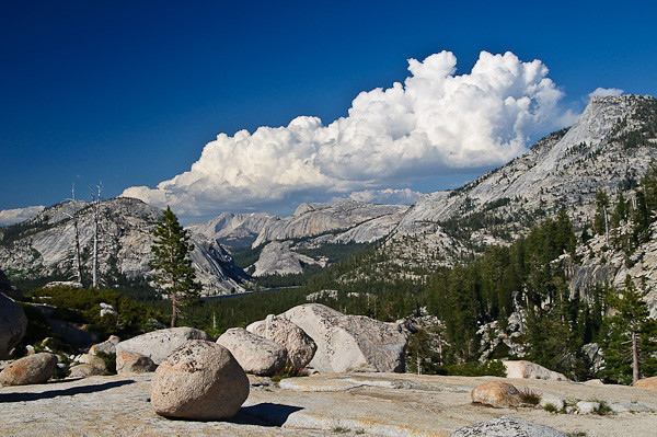 Bellowing Clouds - Olmstead Point