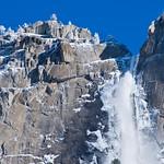 Frozen Yosemite Falls 0562