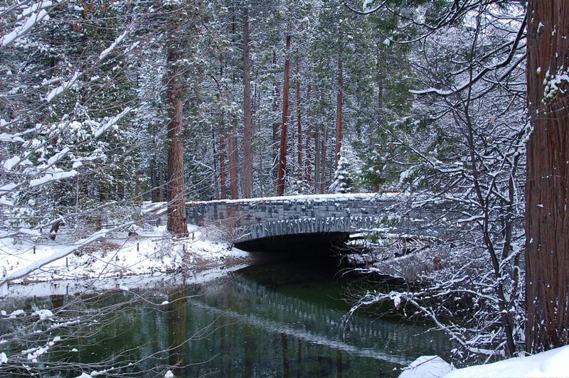 Winter Scene in Yosemite Valley