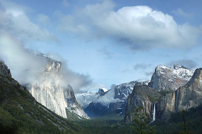 Tunnel View  Yosemite National Park, California - Steve Sieren