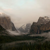 Yosemite valley - clearing storm