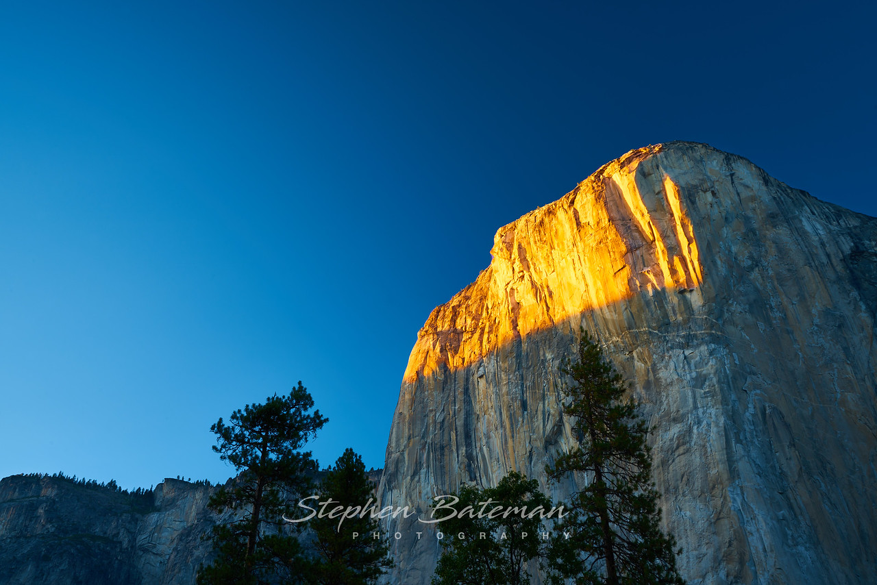 Sunset on El Capitan