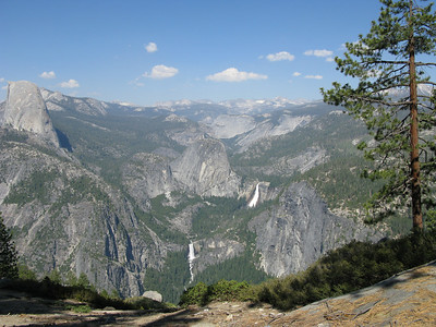 The Half Dome and Falls